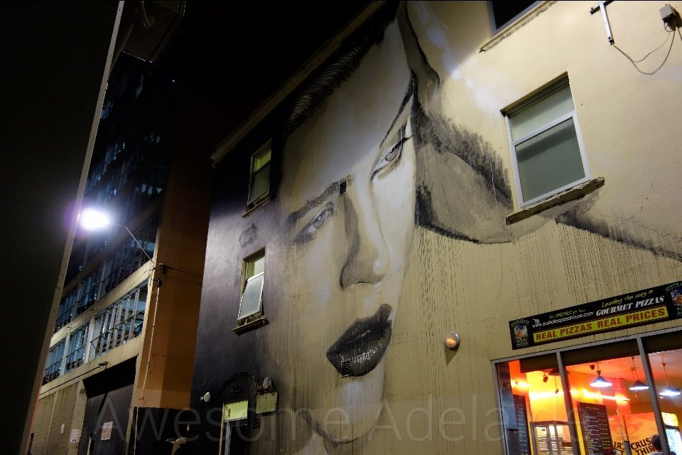 Sightseeing: Rone on Bank Street, Adelaide