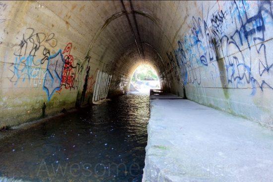 Sightseeing Cox Creek Tunnel, Bridgewater — Awesome Adelaide