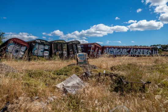 Urban Exploring Pacific National Freight Car Graveyard — Awesome Adelaide