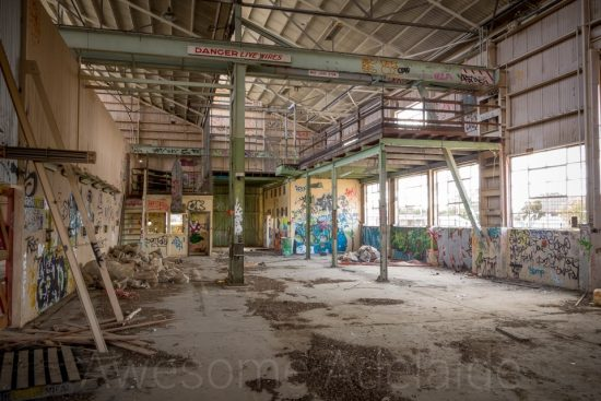 Urban Exploring The Dockyard Workshop — Awesome Adelaide