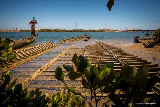Sightseeing Garden Island Ships Graveyard — Awesome Adelaide