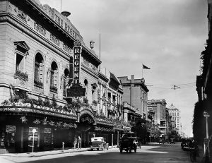 The facade of The Regent Cinema — Adelaide 1937.