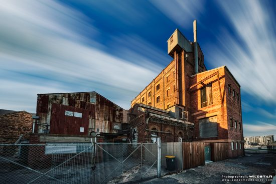 Hart's Mill, Disused Building, Port Adelaide.