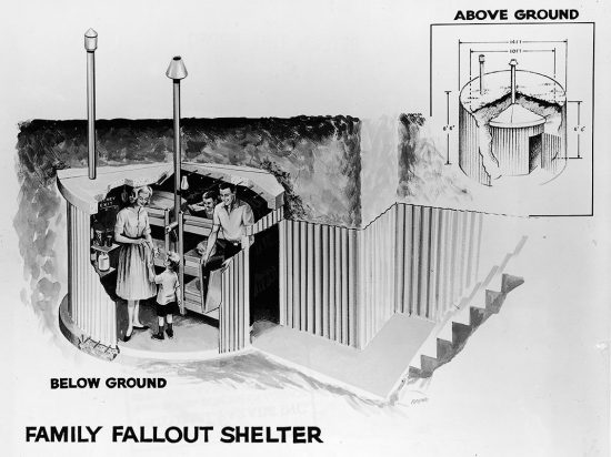 Family Fallout Shelter.