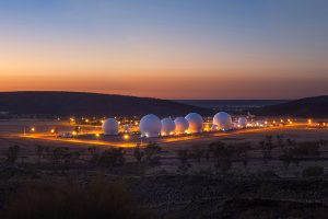Pine Gap Facility, Northern Territory, Australia.