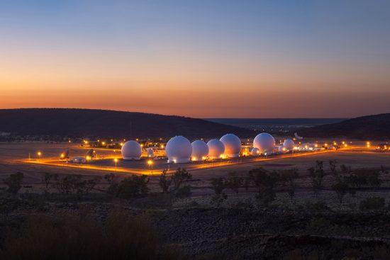 Pine Gap Facility, Northern Territory, Australia.