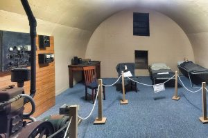 A similar Communications Bunker in Lake Boga, Victoria. Currently a Museum.