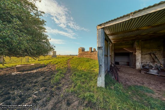 RAAF Remote Receiving Semi-Underground Bunker, Disused, Rural Adelaide.