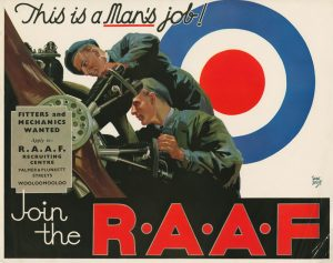 WW2 Australian RAAF Recruiting Poster.
