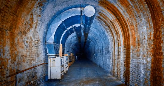 Sleep's Hill Mushroom Tunnel.