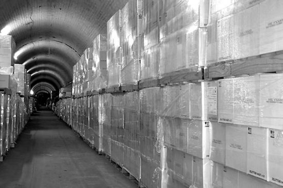 Sleep's Hill Tunnels are now used for wine storage.