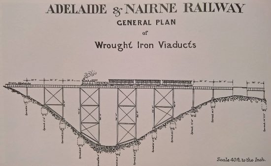 General plan of the Sleep's Hill Viaduct.