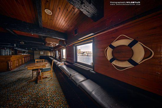Adelaide's HMS Buffalo Replica Family Restaurant, Historical, Metro Adelaide, Glenelg South Australia.