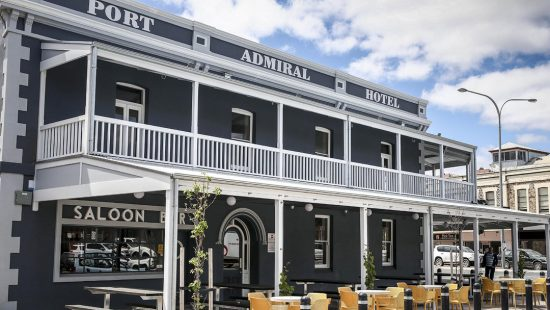 The Port Admiral Hotel, post renovations. (Picture: AAP/Mike Burton)