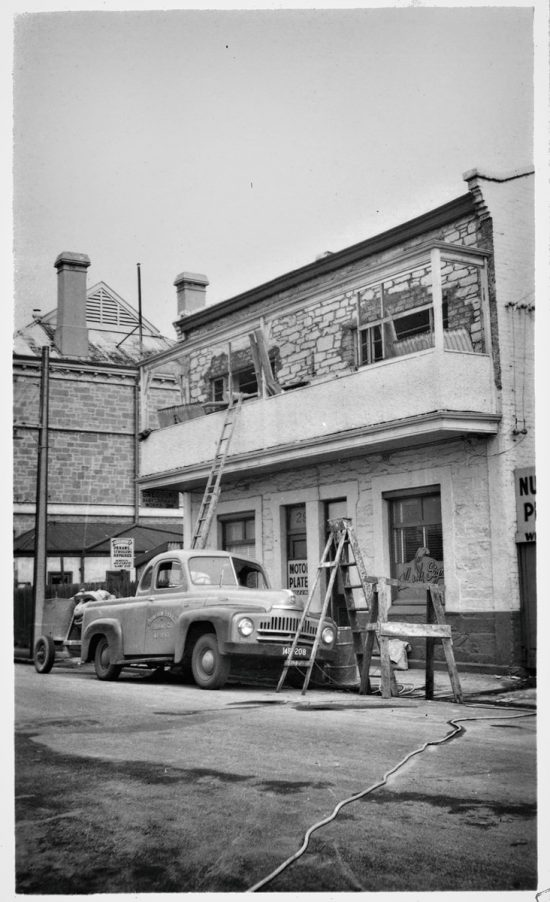 Market Street Building, 18th July 1956. (Source: State Library of South Australia)