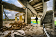 Football Park / AAMI Stadium, Abandoned Building Photographs, West Lakes, Adelaide, South Australia.