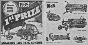 In the nineteenth and twentieth centuries Shearer products won accolades at almost all agricultural shows.