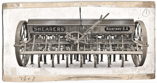 1928-1938 Shearer Spring Tyne Combine.