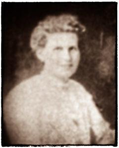 Suspected image of Elizabeth Balfour c. 1910.