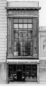 Premises of Balfour Wauchope Limited c1926.