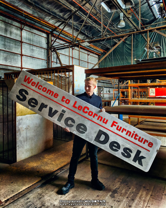 LeCornu Furniture, Abandoned Building Photographs, Keswick, South Australia.