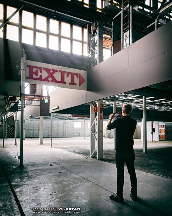 LeCornu Furniture, Abandoned Building Photographs, Keswick, South Australia.