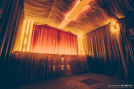 A Suburban Backyard Cinema, Disused Photographs, Adelaide, South Australia.