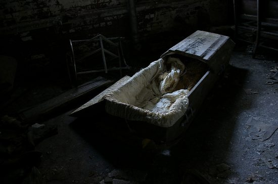 Coffin in basement — Awesome Adelaide