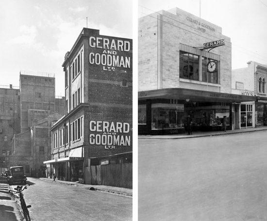 Gerard & Goodman Building Adelaide.
