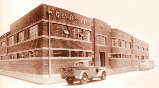 Gerard Electric Mfrs Ltd, Park Terrace, Bowden.