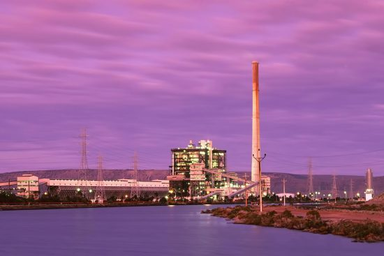 The 'Northern' Port Augusta Coal-Powered Power Station.