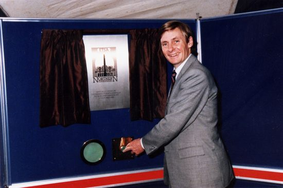 Premier John Bannon opening the Northern Power Station c. 1985.