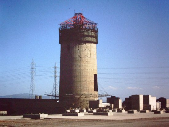 Northern Power Station Stack Construction.