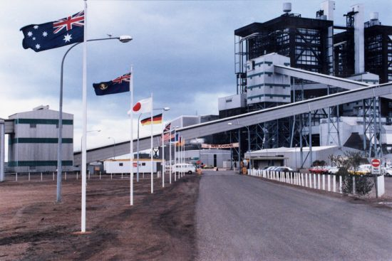 Northern Power Station Opening 1985.